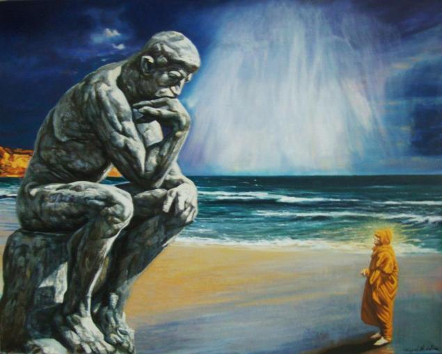 El pensador y el iluminado