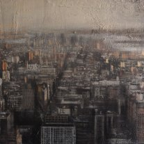 Panorámica (New York) .50x50 cms