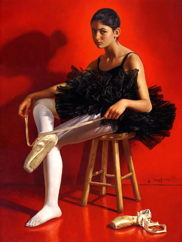 Portrait of Allegra as Ballerina