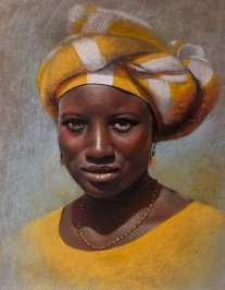 """Africa"" Pastel 65x50"