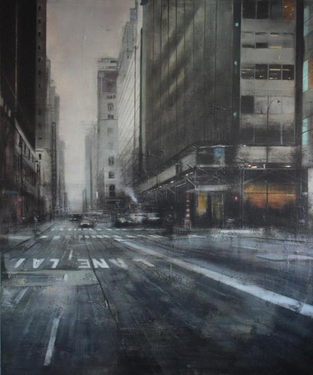 Septiembre en Manhattan.180x150 cms