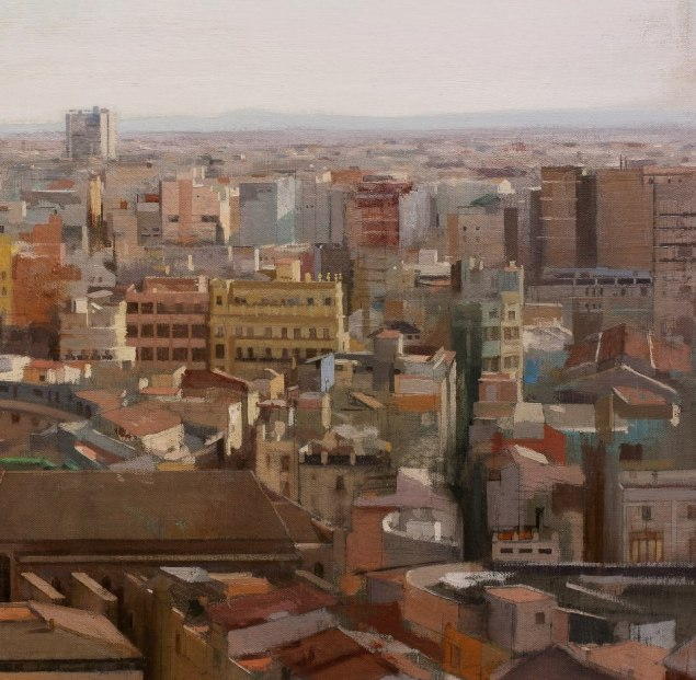 Valencia from the Miguelete (detail)