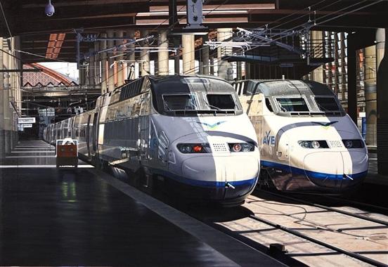 01.- Trenes Alstom serie 100 en estación Puerta de Atocha  JPGE_005 - copia - copia