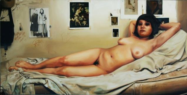 Algo mas del desnudo ( 80 x 160 cm.) 2008 (1)