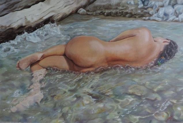 La_bañista