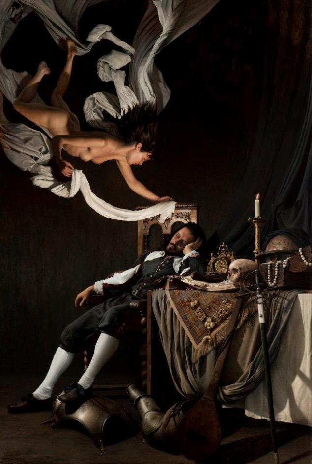 El sueño del caballero II, 195×130 olazabal