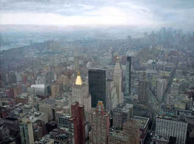 Miguel Angel Moya -Manhattan desde el Empire State