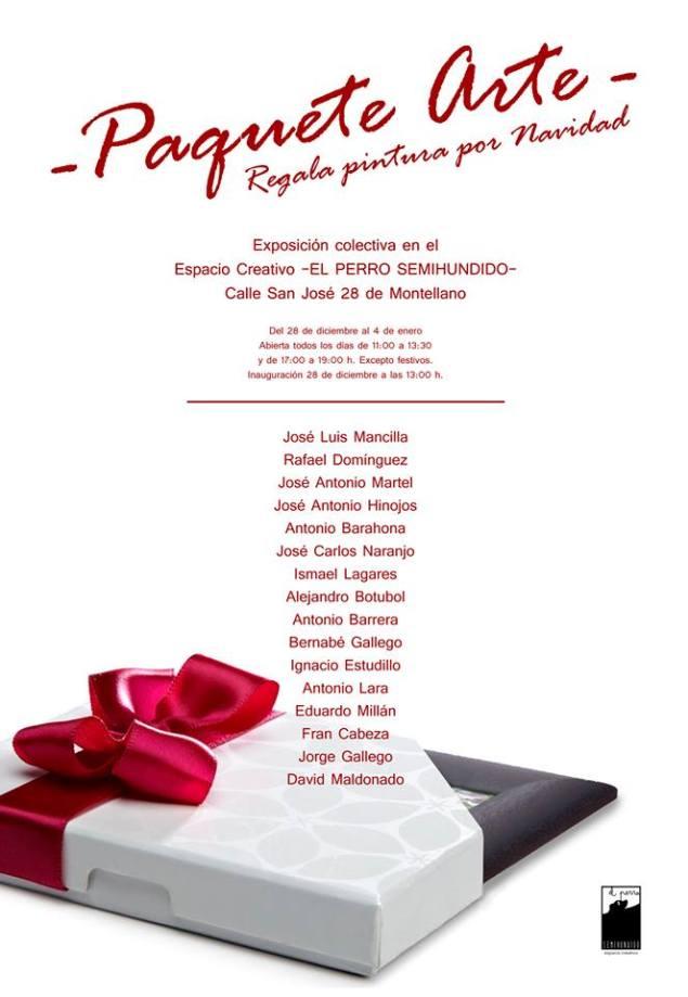 PAQUETE ARTE - EXPOSICIÓN COLECTIVA