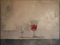 Autor: José Ato Título: Homenaje Ramón Gaya Técnica: óleo sobre lienzo, 46x61 cm. atosaorin.blogspot.com