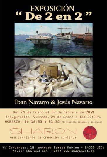 Iban Navarro y jesus navarro