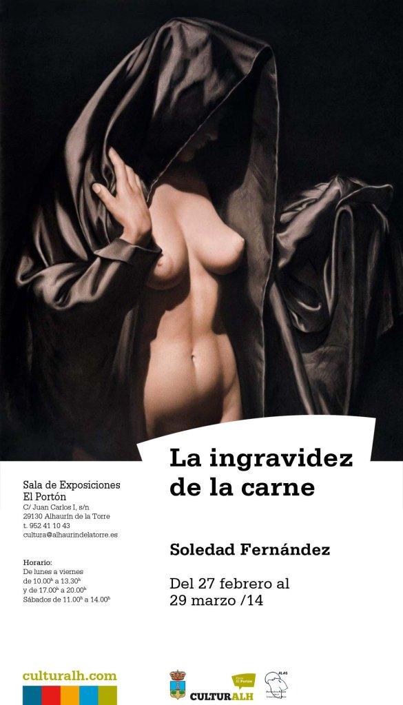 Cartel Exposición Soledad Fernandez br