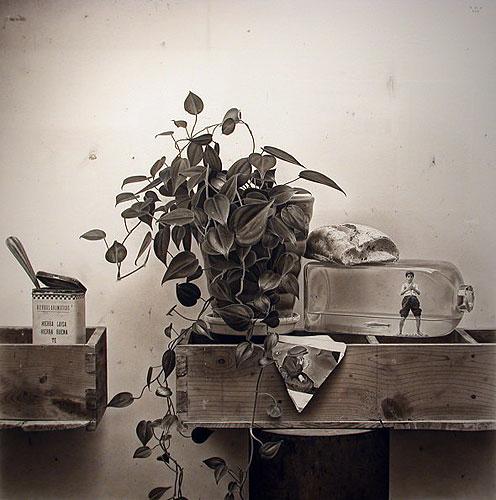Francisco Roa - ST - Carbónpapel - 70 x 70 cm