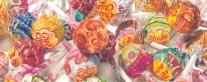 Autor: Antonio Sánchez Título. ChupaChups 3.0 Técnica: lápices de colores sobre papel Papel: Fabriano Dimensiones 50 x 100 cms.