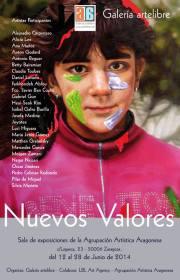 Exposición Nuevos Valores V2014
