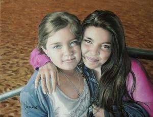 Cristina y su hija