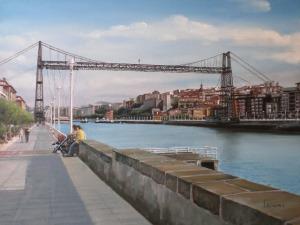 Puente colgante, Portugalete