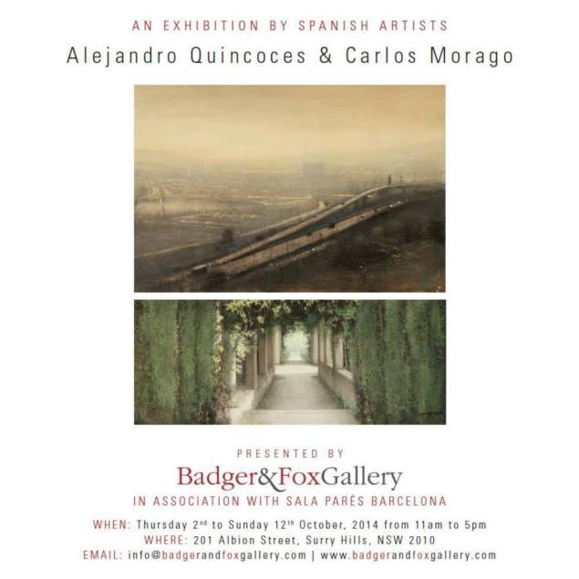 Alejandro Quincoces y Carlos Morago en Badger and Fox Gallery