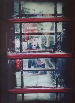 "Autor: Virginia Rodríguez Cañete Título: ""27 Montague Street"" Técnica: Bolígrafo sobre papel Dim: 70x52 cms"
