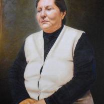 """Autor: Eduardo Rodolfo Tejada Título: """"A la Luz"""" Dimensiones: 60 x 80 cm Técnica: Óleo sobre lienzo encolado a tabla"""