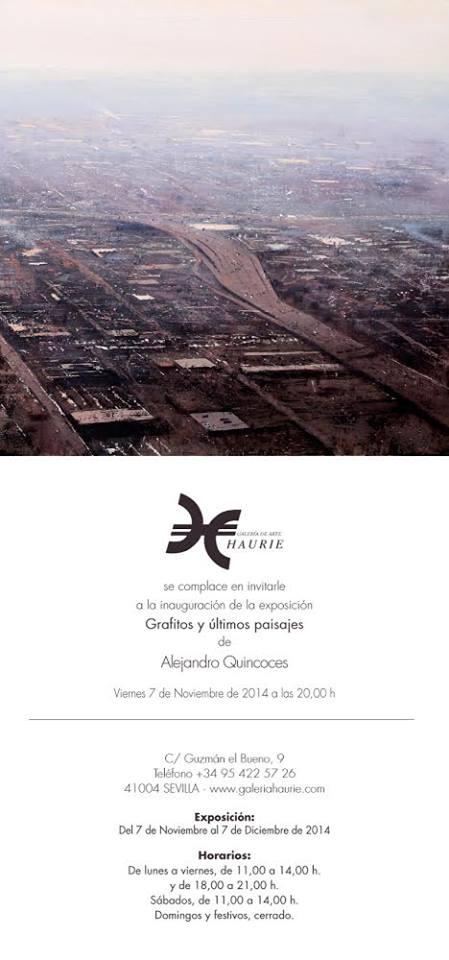 Alejandro Quincoces galeria haurie