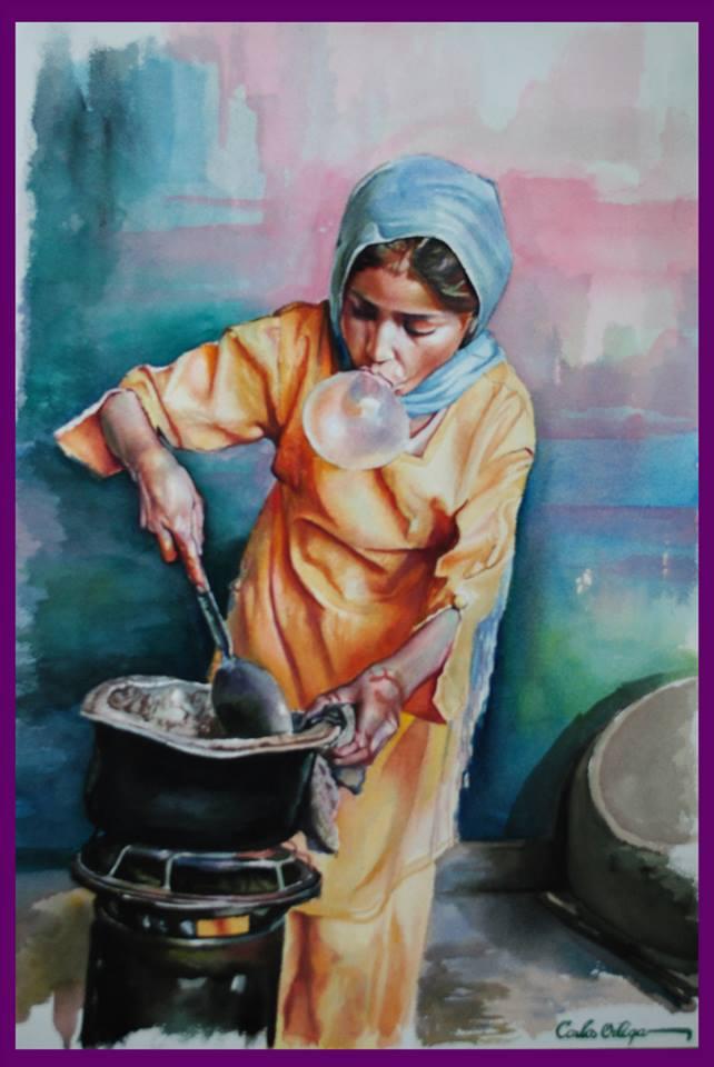 Carlos Watercolor Arts7