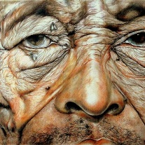 "Autor: Javier Trelis Sempere ""Masai"" 130x60 cms Pastel sobre tabla."