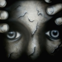"Autora : Tere Carbonbell Obra : ""Preocupación "" 74x130 cm Técnica : Mixta con Acrílico sobre tela con bastidor"
