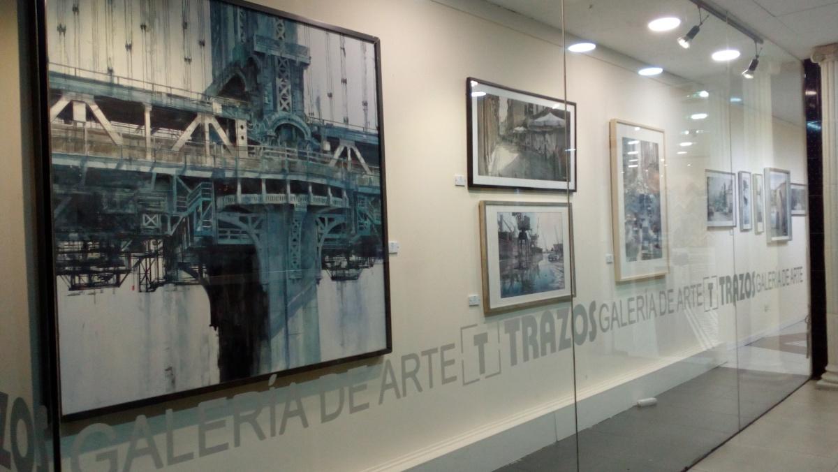 """""""Nuevos recorridos"""" en Galería Trazos, Ciudad Real"""